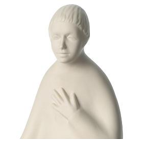 Berger porcelaine pour crèche 55 cm Francesco Pinton s2
