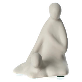 Tres reyes y pastor porcelana para belén 16 cm de altura media Francesco Pinton s5