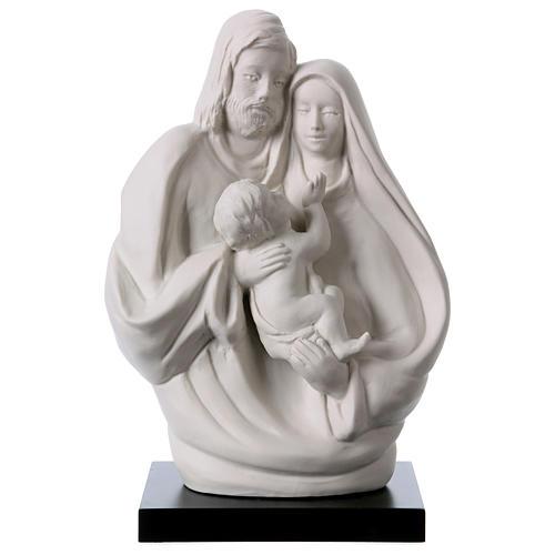 Holy Family in white porcelain 19 cm 1