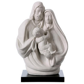Sacra Famiglia Busto in porcellana 19 cm s1