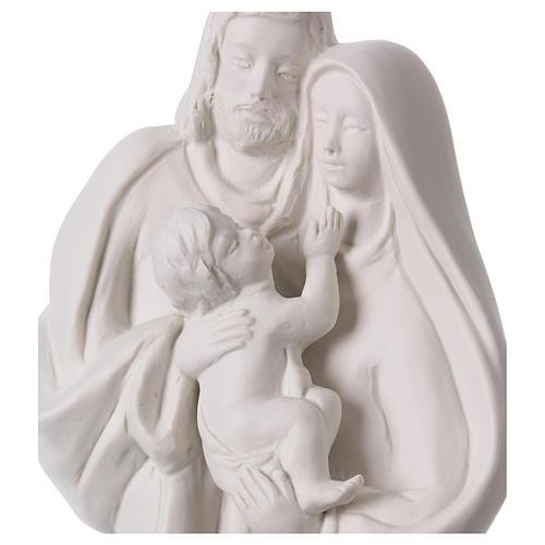 Sacra Famiglia in porcellana 36 cm 2
