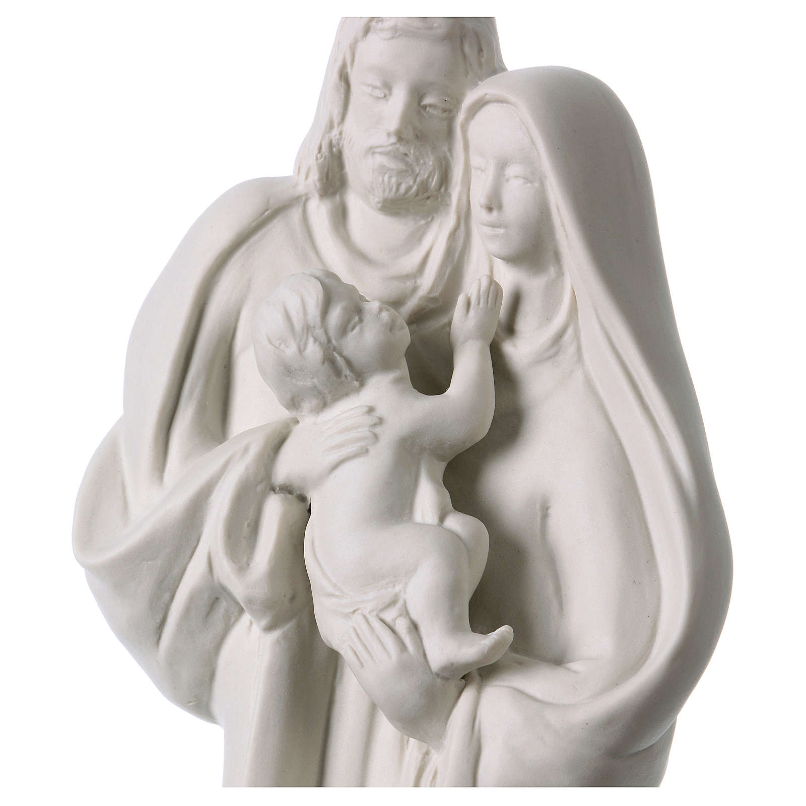 Holy Family in white porcelain 32 cm 4