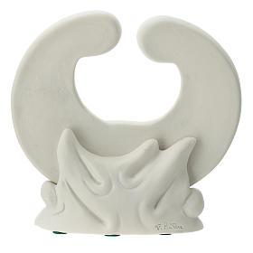 Statua porcellana bianca S. Famiglia 15 cm s4