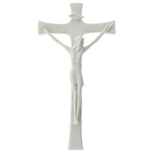 Crucifix in porcelain 20 cm 1