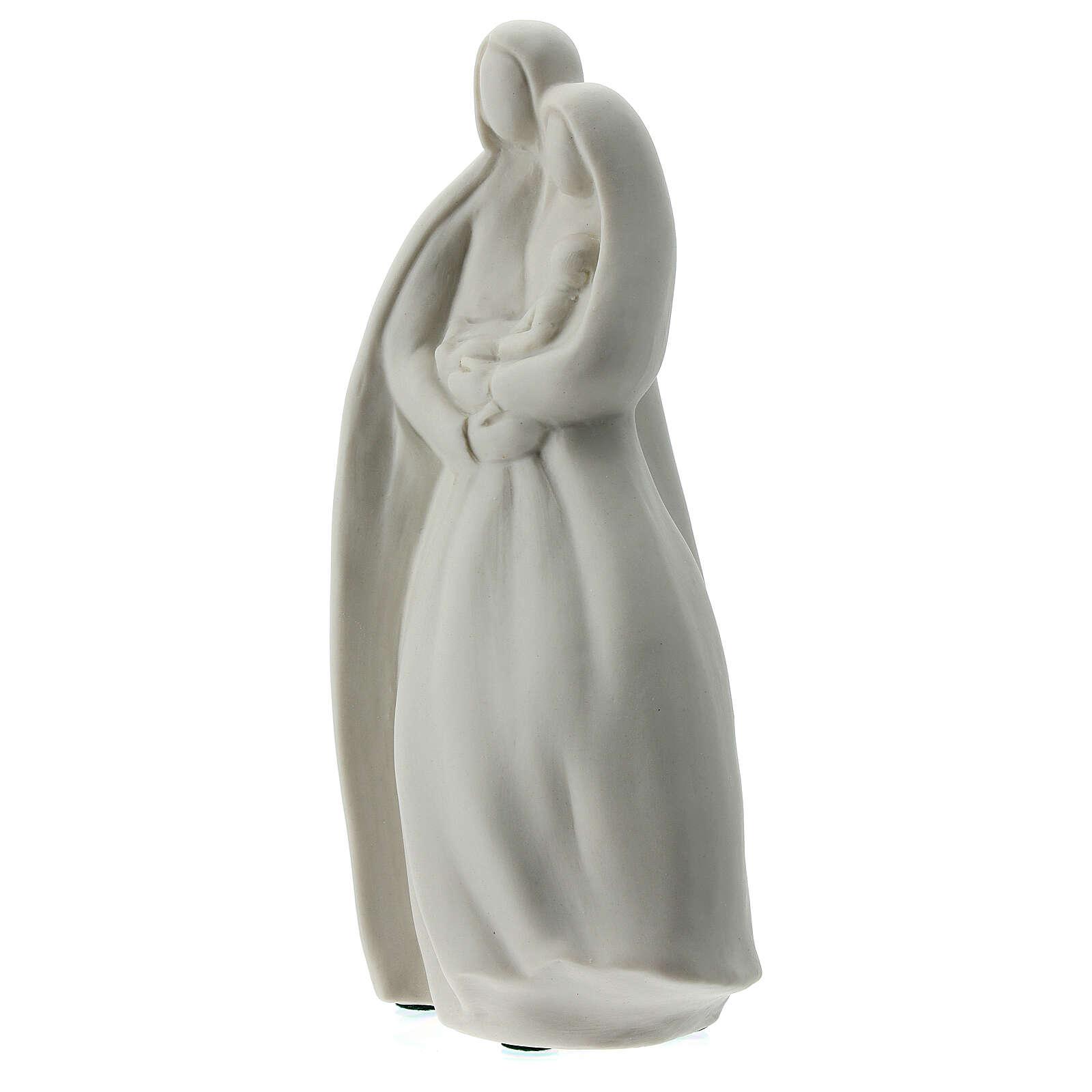 Sagrada Familia 16 cm porcelana blanca 4