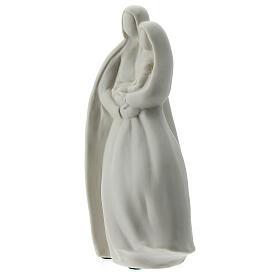Sagrada Familia 16 cm porcelana blanca s3