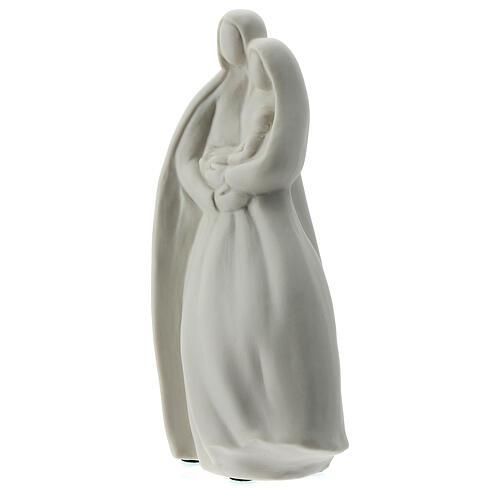 Sagrada Familia 16 cm porcelana blanca 3