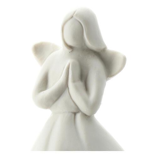 Angel 5 1/2 in white porcelain 2