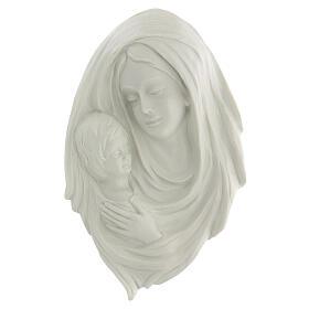Bassorilievo Madonna con bimbo 30 cm s1