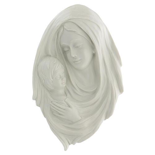 Bassorilievo Madonna con bimbo 30 cm 1
