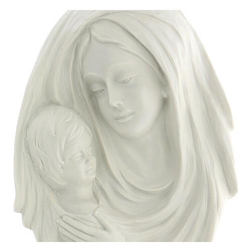 Bassorilievo Madonna con bimbo 30 cm 2