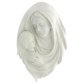 Bassorilievo Madonna con bimbo 35 cm s1
