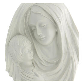 Bassorilievo Madonna con bimbo 35 cm s2