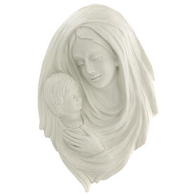 Bassorilievo Madonna con bimbo 40 cm s1