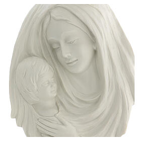 Bassorilievo Madonna con bimbo 40 cm s2