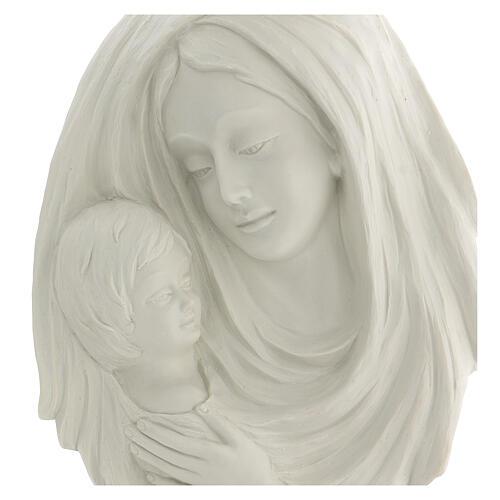 Bassorilievo Madonna con bimbo 40 cm 2