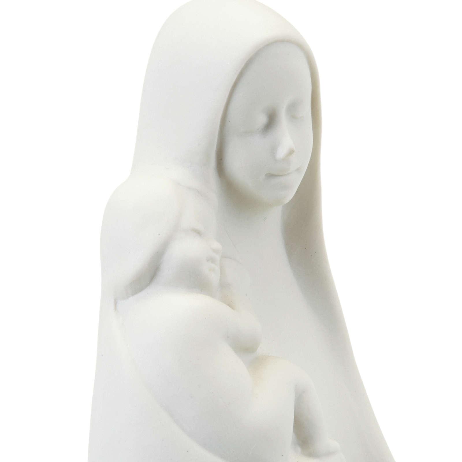 Virgem Maria com Menino de pé Francesco Pinton 4