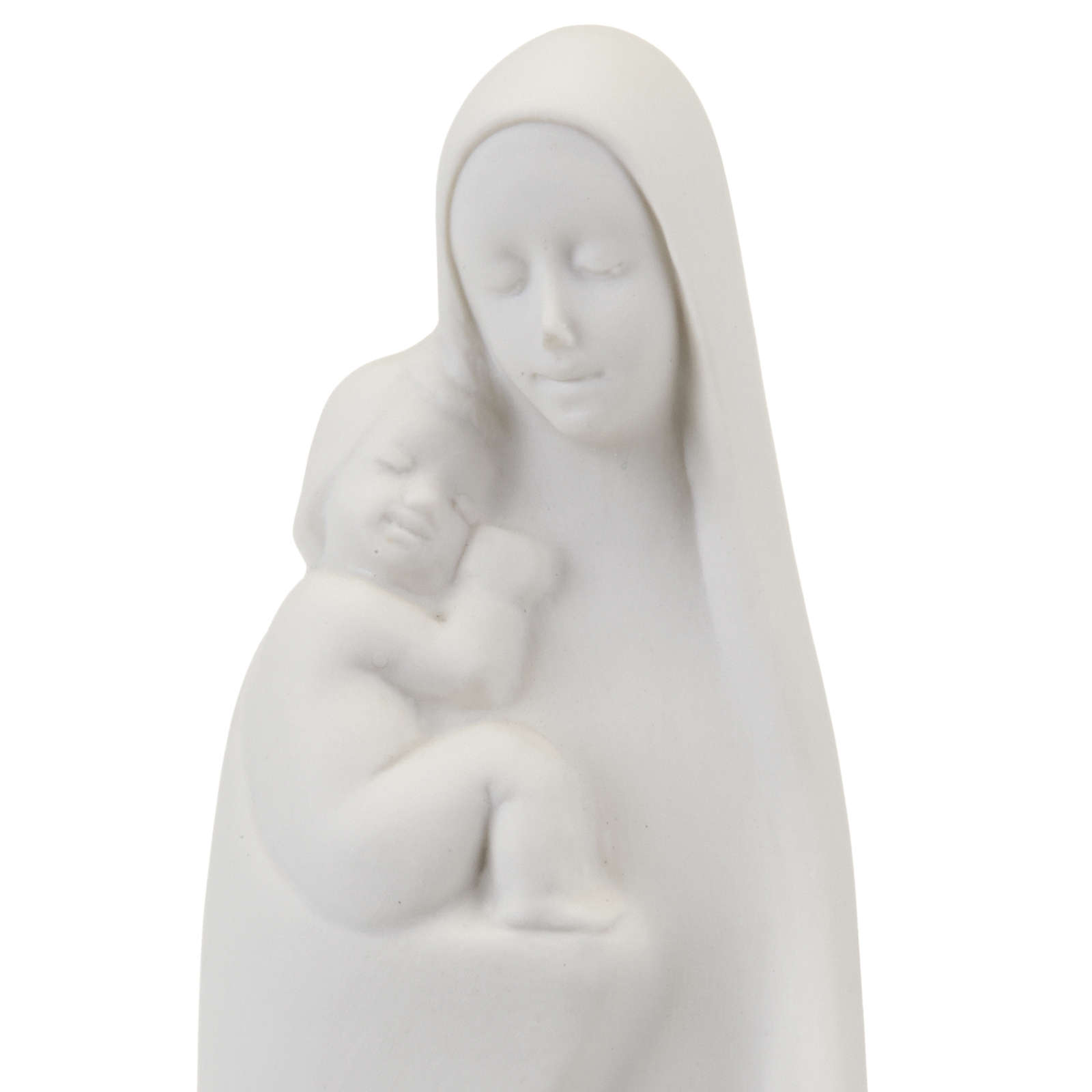 Mary standing with the baby Francesco Pinton 4