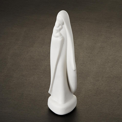 Matka Boża z Dzieciątkiem stojąca mała Pinton 16 cm
