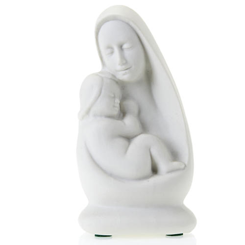 Mother Mary with Jesus bust Francesco Pinton 13 cm 1
