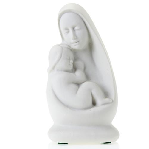 Busto Madonna con bambino Francesco Pinton 13 cm 1