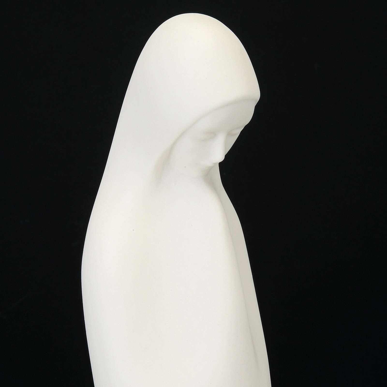 Matka Boża złączone dłonie 33 cm Francesco Pinton 4