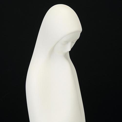 Virgem Maria mãos juntas 33 cm Francesco Pinton 3