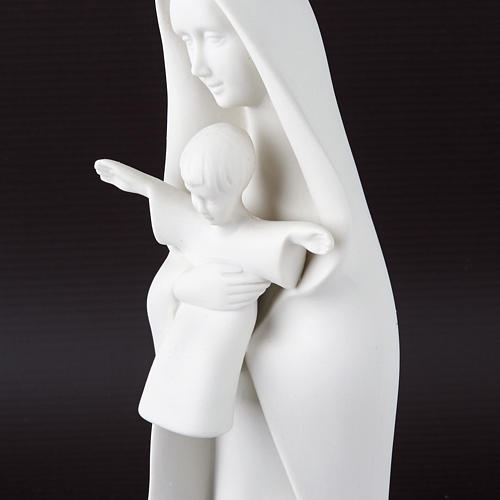 Mother Mary with veil and baby Francesco Pinton 4