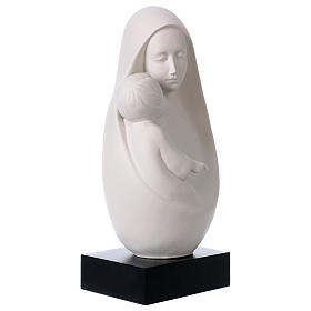 Busto Madonna con Bambino Pinton 32 cm s4