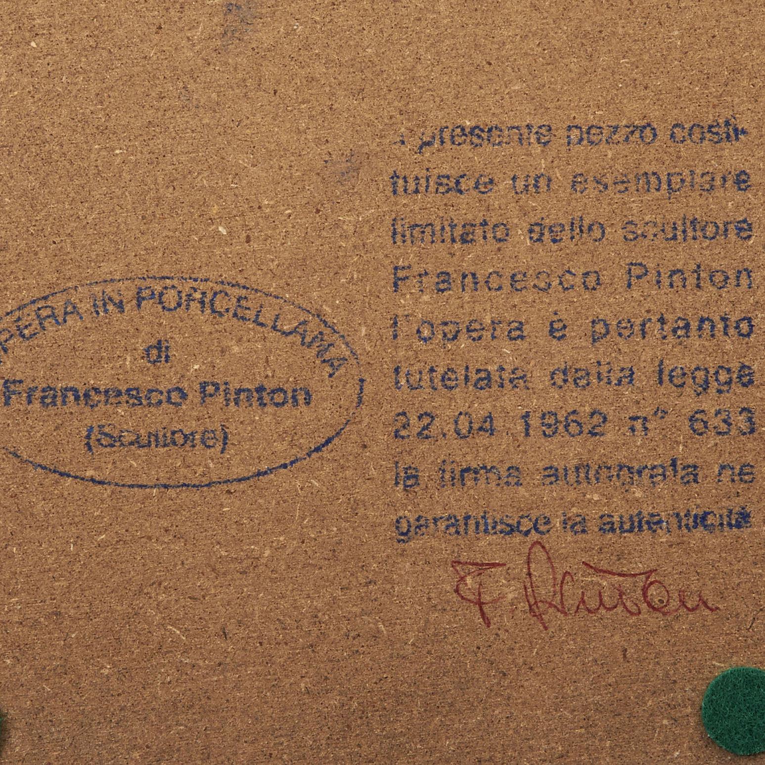 Madonna a braccia aperte 35 cm Francesco Pinton 4