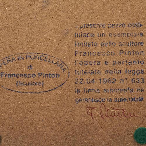 Madonna a braccia aperte 35 cm Francesco Pinton 6