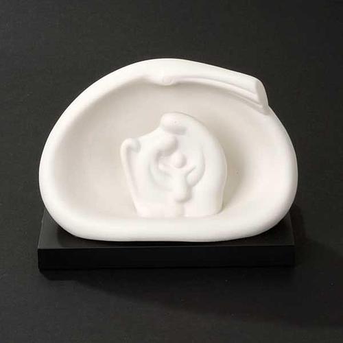 Sainte Famille, nativité, stylisée,comète Francesco Pinton 11 cm 4