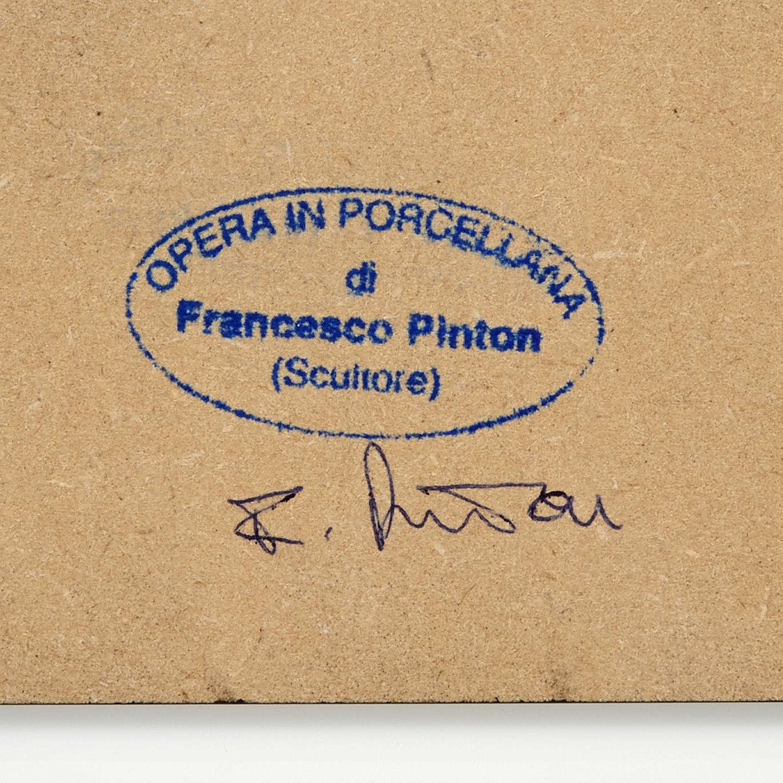 Pesebre estilizado con cabaña Francesco Pinton 10 cm 3