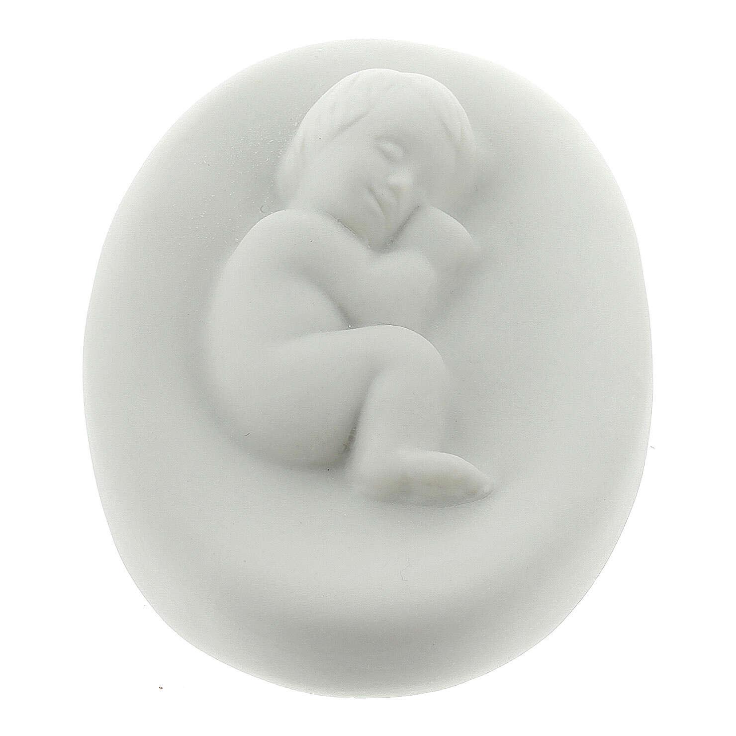 Natività porcellana cm 15 Francesco Pinton 3