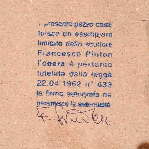 Natività tonda porcellana Francesco Pinton 12-17-22 cm 2