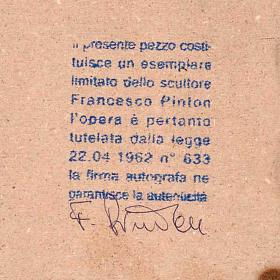 Natividade redonda porcelana Francesco Pinton 12-17-22 cm s2