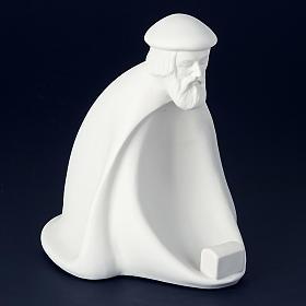 Crèche porcelaine blanche 40-55 cm Pinton s2