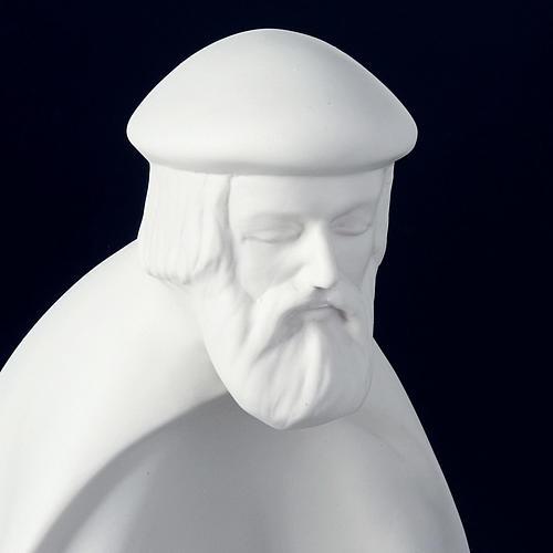 Crèche porcelaine blanche 40-55 cm Pinton 3