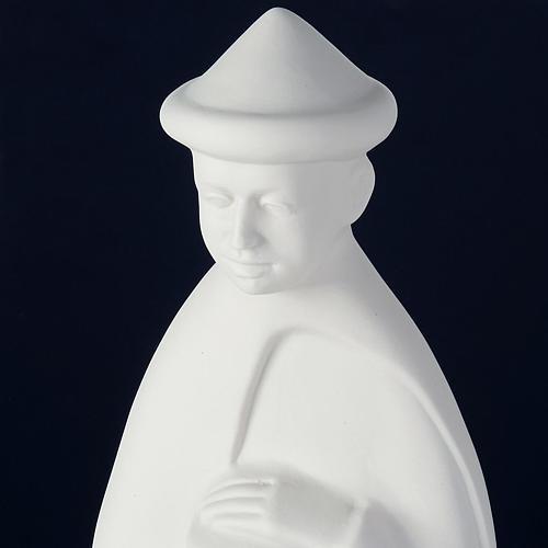 Crèche porcelaine blanche 40-55 cm Pinton 6
