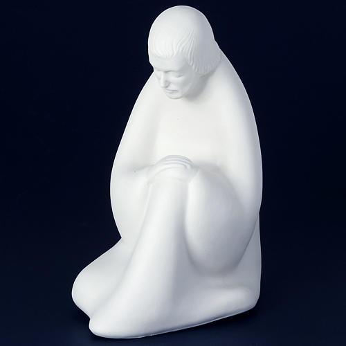 Crèche porcelaine blanche 40-55 cm Pinton 9
