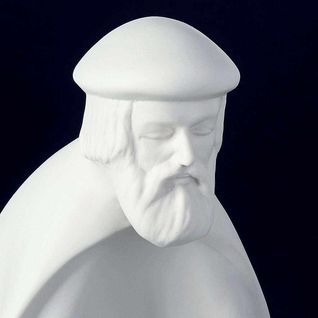 Szopka biała porcelana 40-55 cm Pinton 4