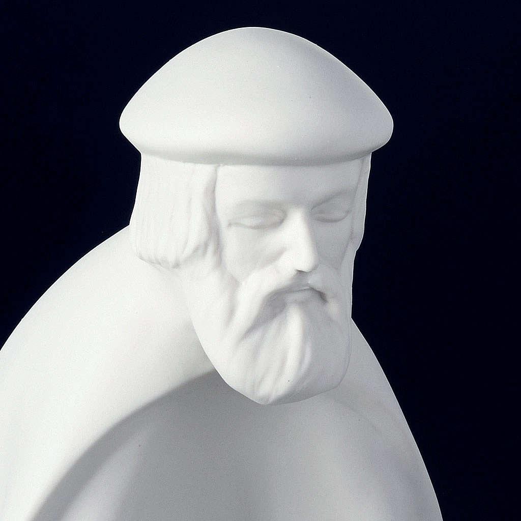 Presépio porcelana branca 40-55 cm Pinton 4