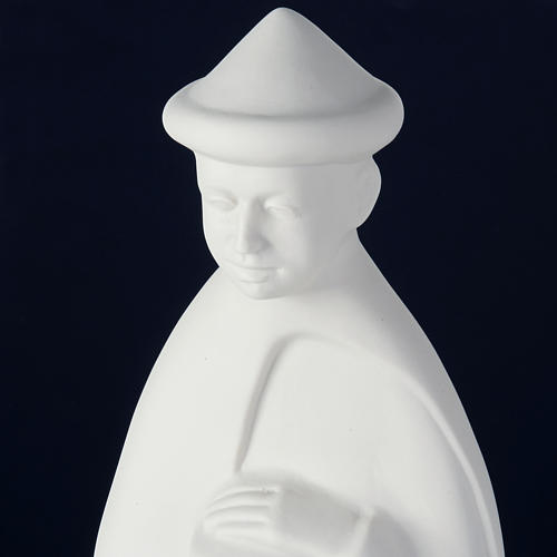 Nativity set white porcelain 40-55 cm Pinton 10