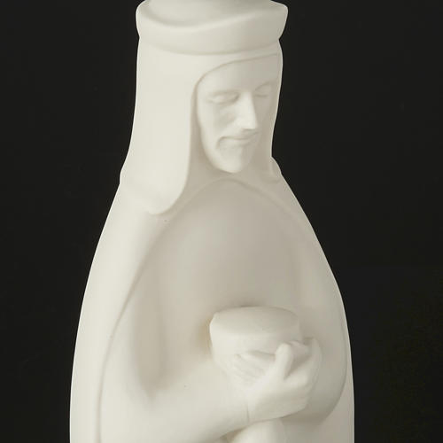 Nativity set white porcelain 40-55 cm Pinton 14