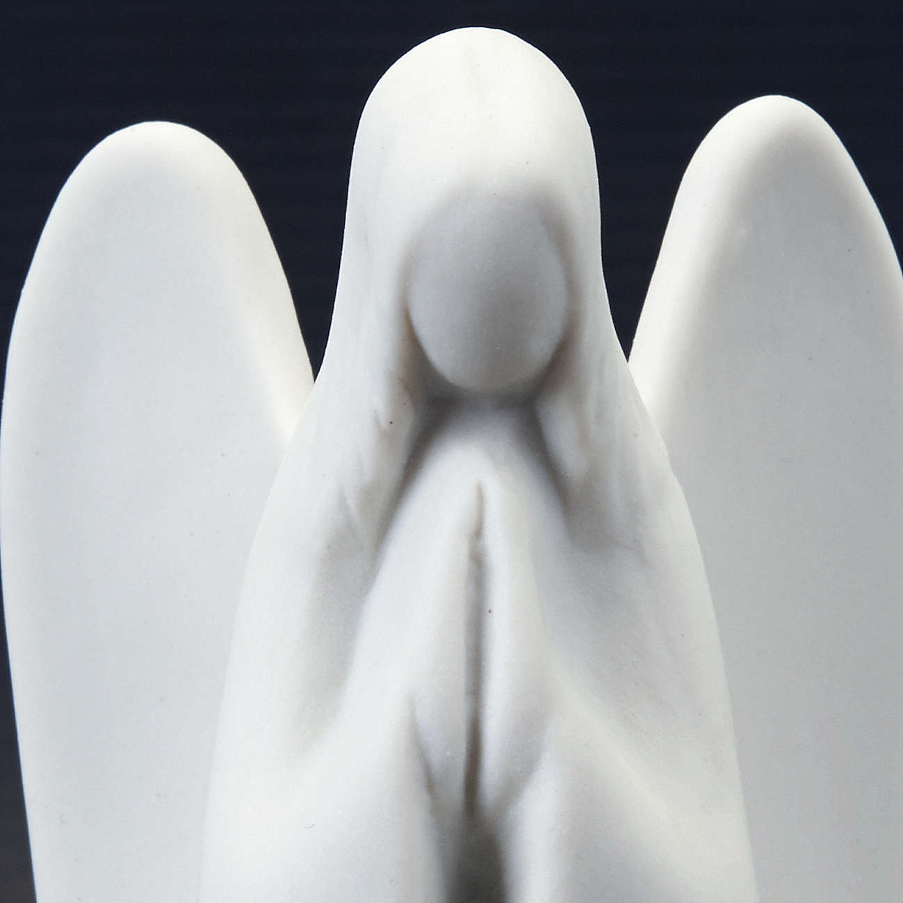 Guardian Angel Statue- mignon Francesco Pinton 9 cm 3