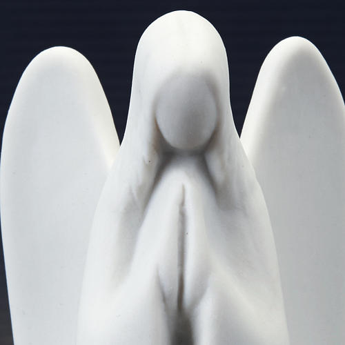 Guardian Angel Statue- mignon Francesco Pinton 9 cm 7