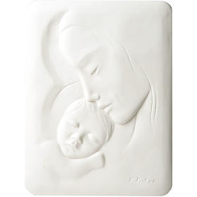 Mary with Jesus Bas Relief Francesco Pinton 30 cm s1
