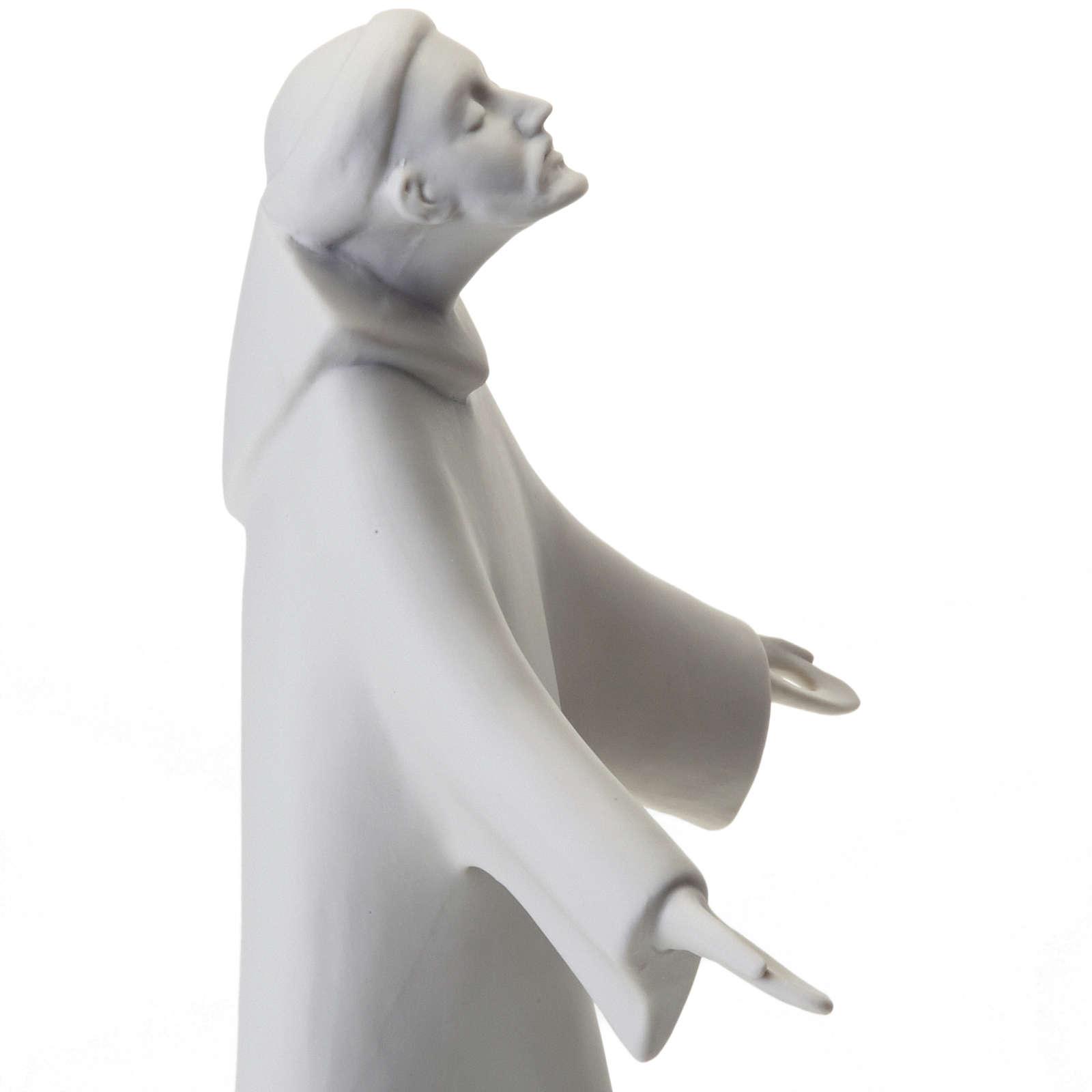 Saint Francis, standing Francesco Pinton 38 cm 4