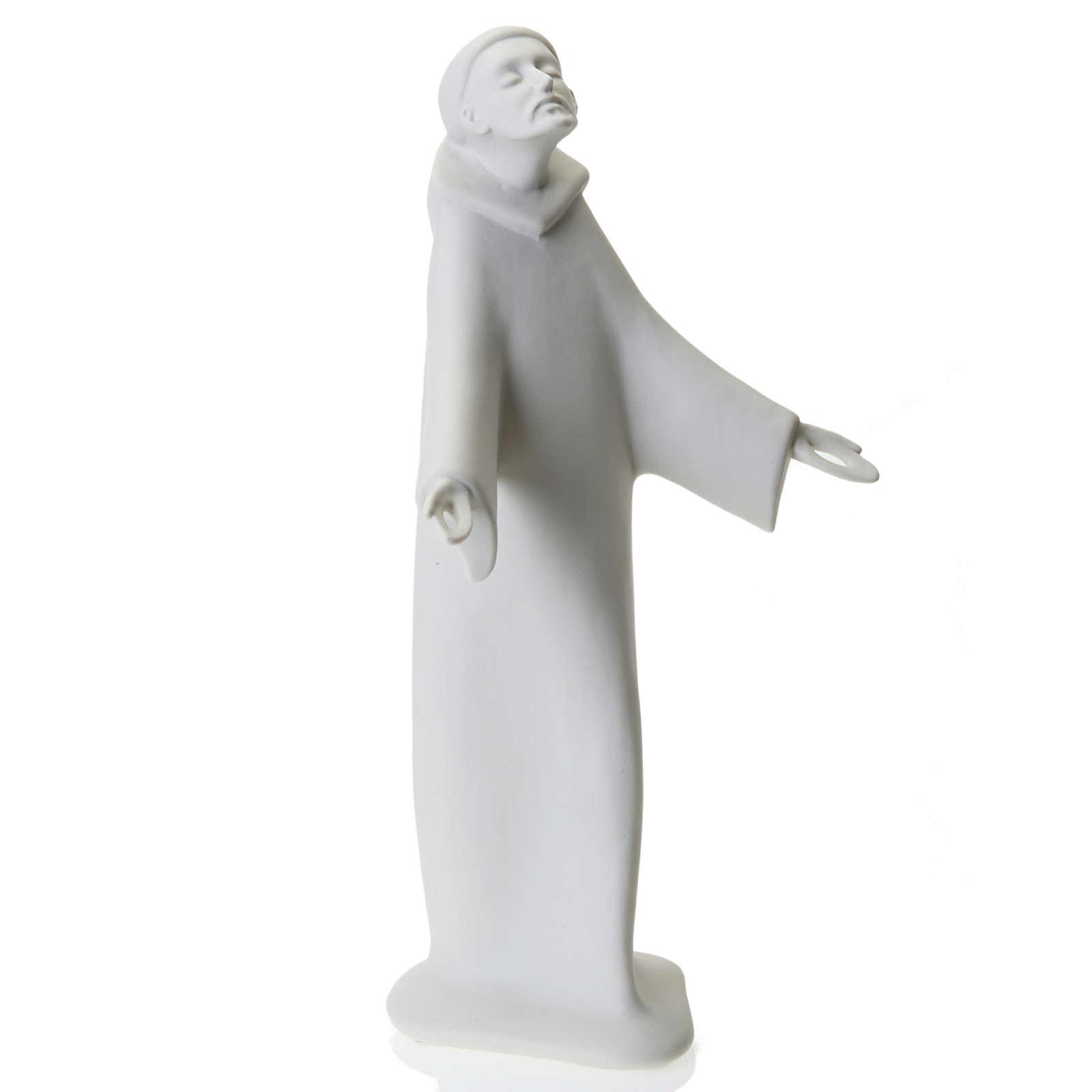 São Francisco de pé Francesco Pinton 38 cm 4