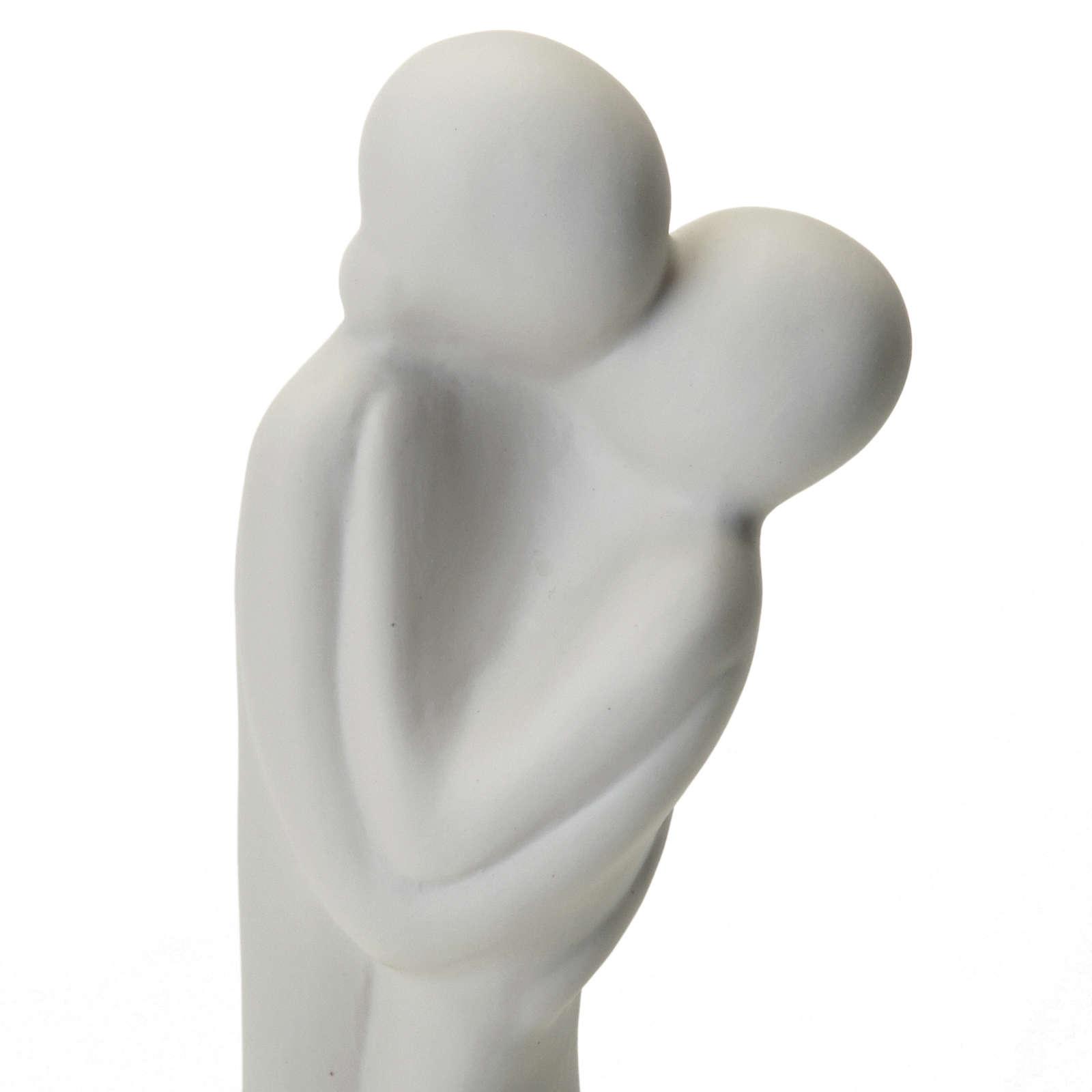 O beijo porcelana Francesco Pinton 16-31-46 cm 4